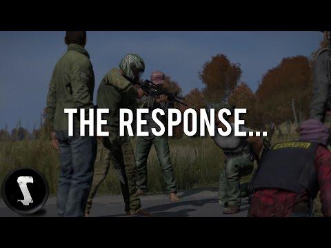 The DayZ Dev Team responded...