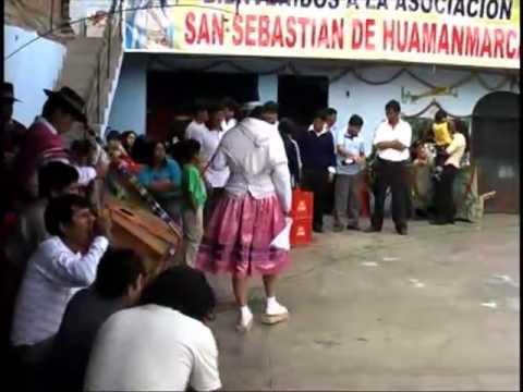 HUAYLIA-HUAMANMARCA 2010 *TORMENTA DE COCHA VS CHULLPI SARA DE ACCOMARCA*