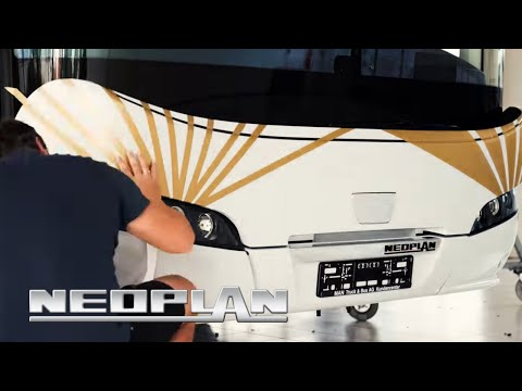 #movingART: Klebebande meets NEOPLAN Vol. 2