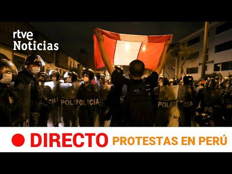 EN DIRECTO 🔴 Protestas en PERÚ contra la destitución de MARTÍN VIZCARRA | RTVE Noticias