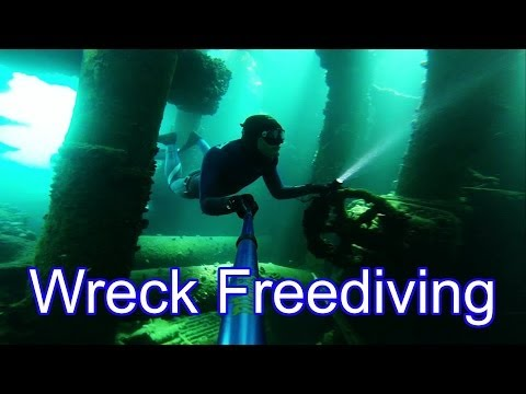 Freediving the Antipolis Wreck  This time I explore the insides of a wrecked oil tanker Antipolis. It's hugely underrated dive site. Its my first time wreck diving with such great options to penetrate. I think we even found a few new hidden sections inside the wreck.  Its located near Camps Bay, Cape Town, South Africa. Water was a freezing cold 8 degrees on the surface and 7c down below.  Facebook Page: http://www.facebook.com/freediverhd  Or if you want to chat more and share your diving stories with me, you can add my personal FB -  http://www.facebook.com/dean.fredericks  Thanks orcatorch for giving me this cool light to check out. Really helped when scouting out this wreck. http://www.orcatorch.com/product/1384844090.html