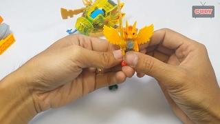 Lego Chima cưỡi xe đầu rồng bộ số 3 brick toy for kids