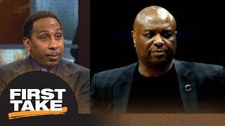Stephen A. calls out Florida State coach for postgame interview: It was 'petty' | First Take | ESPN