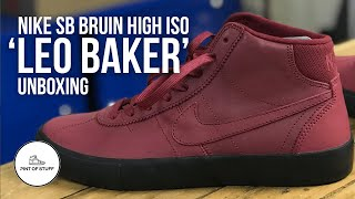 I DID IT - Nike SB Orange Label Leo Baker Bruin High ISO Sneaker Unboxing