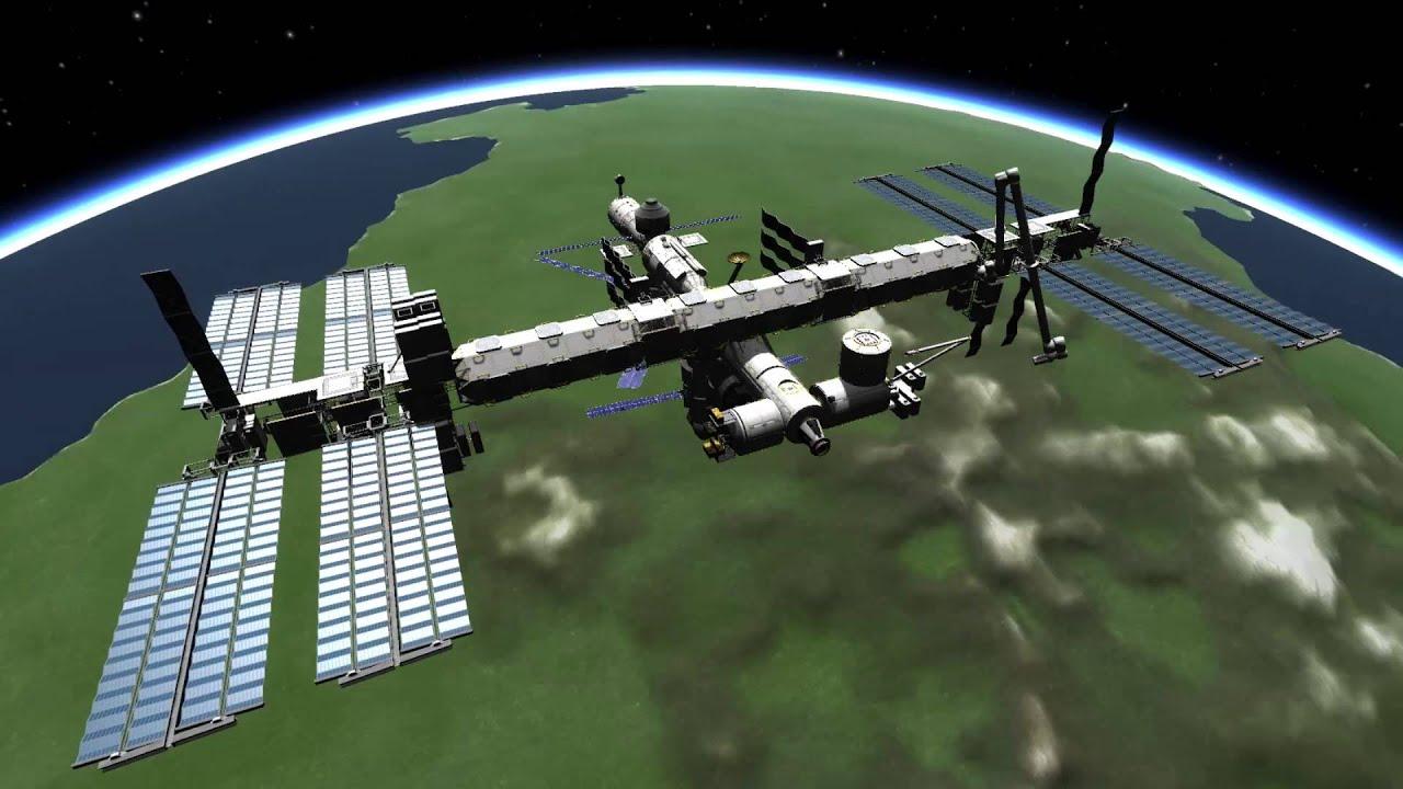 KSP ISS Replica - YouTube