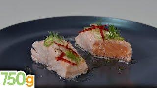 Recettes de cuisine : 750 Grammes Pavés de saumon au citron - 750 Grammes (Recette sponsorisée) en vidéo