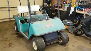 Making a 4x4 golf cart