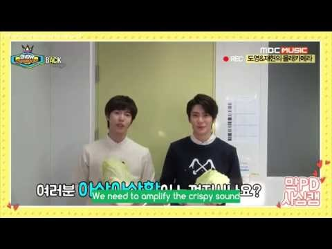[Engsub] 150404 Show Champion backstage - SR15B Doyoung Jaehyun - Red Velvet hidden camera
