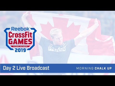 2019 CrossFit Games Day 2 Live