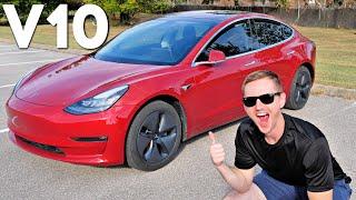 Tesla's BIGGEST Software Update Ever: V10 Review!