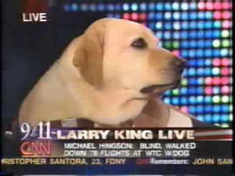 Michael Hingson On Larry King Live September 11 2002