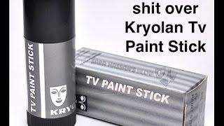 How to apply Kryolan TV Paintstick