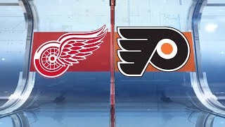 NHL Highlights | Red Wings vs. Flyers - Feb 16, 2019