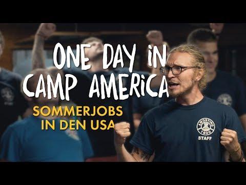 ONE DAY in Camp - ☀Sommerjobs in den USA☀ | Arbeiten im Feriencamp
