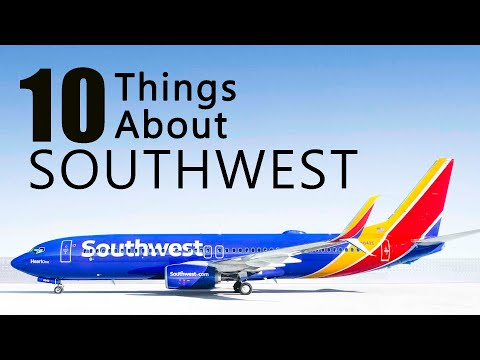 10 things about Southwest Airlines.