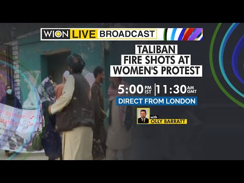 WION Live Broadcast | Afghan women protest for rights | Taliban fire shots at women's protest