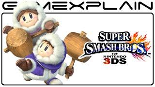 Ice Climbers Glitch in Super Smash Bros. 3DS