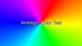 Ambilight Color Test