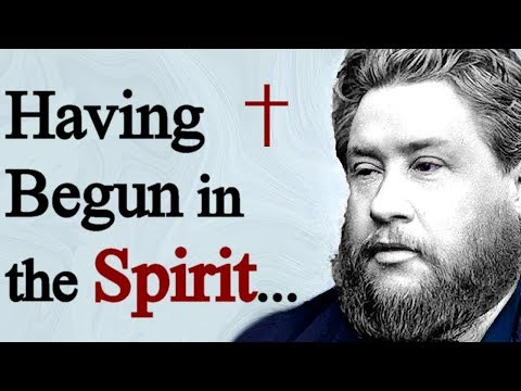 The Work of the Holy Spirit - Charles Spurgeon Sermon