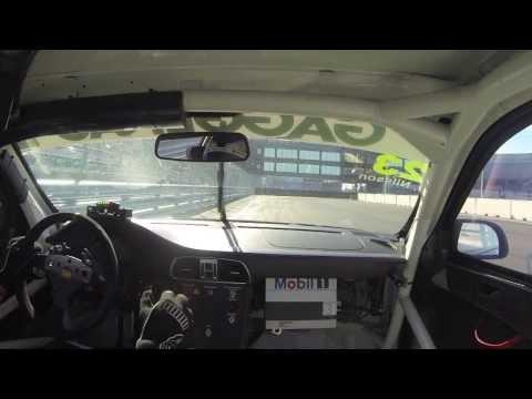 Onboard Porsche Carrera Cup - Ola Nilsson - Tierp Arena
