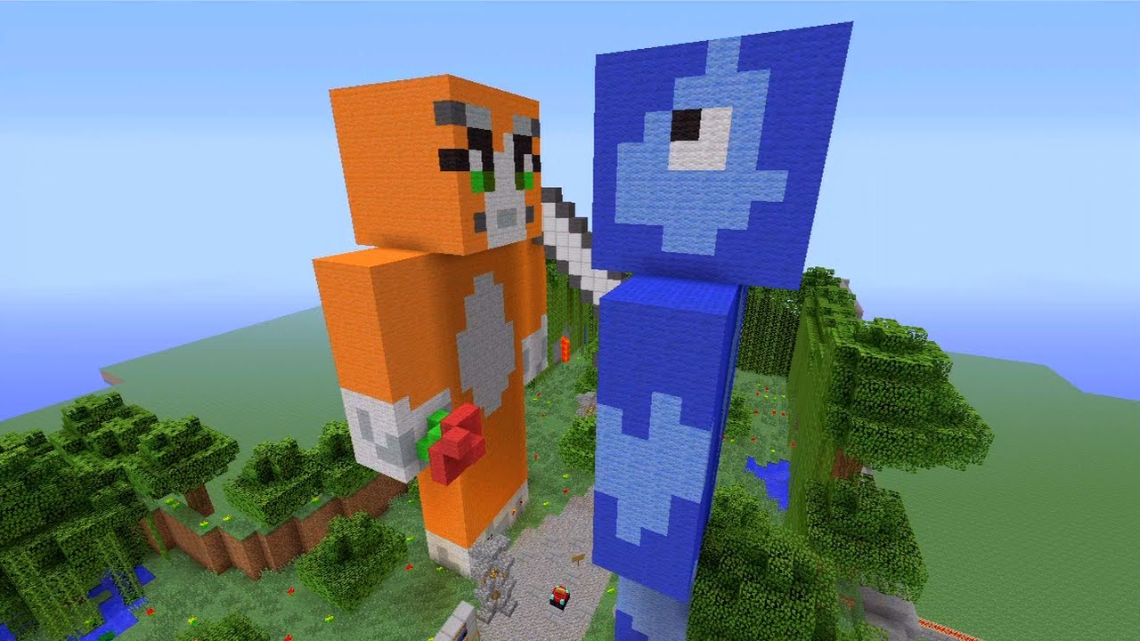 stampy cat playing minecraft hunger games