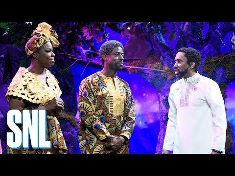 Black Panther New Scene - SNL