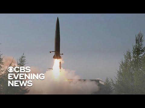 North Korea fires 3 short-range missiles