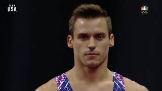 Sam Mikulak On Vault | Champions Series Presented By Xfinity