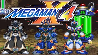 MegaMan X4: All Upgrades, Heart & Sub Tank Locations + Ultimate Armor X + Black Zero