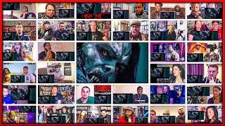 Morbius Teaser Trailer Mega Reactions Mashup (40+ Reactions)