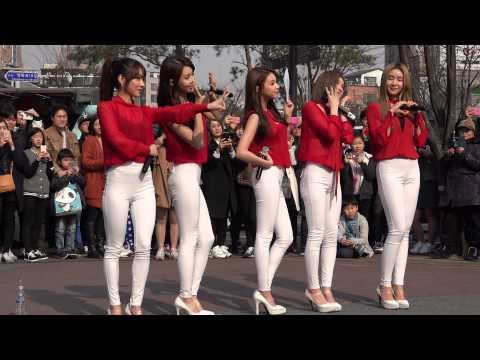 [15.03.08] 피에스타(FIESTAR) 홍대 게릴라 공연