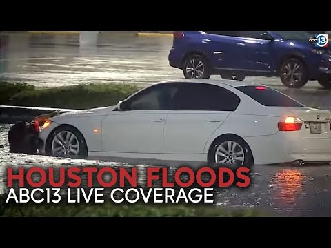 HOUSTON FLOODS: Live coverage of city UNDER nearly foot of rain