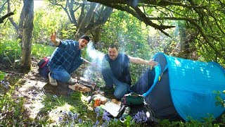 I WENT CAMPING W/ MY BEST FRIEND | #VLOG