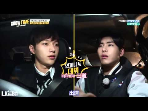 【LkimBar中字】151210 SHOWTIME INFINITE EP01 金明洙 CUT