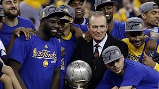 Golden State Warriors Western Conference Finals Championship Celebration and Ceremony