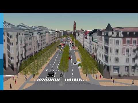 Ombyggnaden av Drottninggatan och Järnvägsgatan, etapp 2