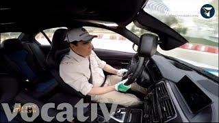Turkmenistan President Shows Off Drifting