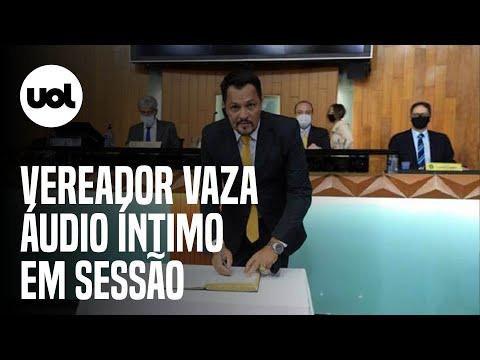 """Vereador deixa áudio íntimo vazar em sessão da Câmara em MG: """"Tô cremosinho"""""""