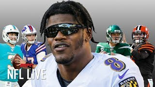 Why Lamar Jackson will have a better career than Josh Allen and the other 2018 draft QBs  | NFL Live