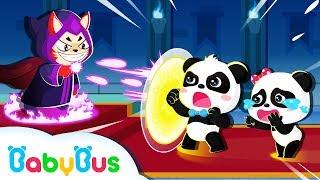 Super Panda Defeats Devil King   Math Kingdom Adventure   Super Rescue Team   BabyBus Cartoon