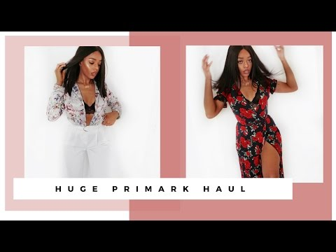 HUGE PRIMARK TRY ON CLOTHING, SHOES, HOMEWARE HAUL | MAY 2017 - SARAH WORE WHAT