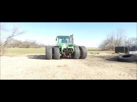 1982 John Deere 8650 4WD tractor for sale | no-reserve Internet auction March 8, 2017