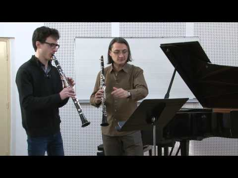 Masterclass de Florent Héau - 3 pièces de Stravinsky - Pièce n°2