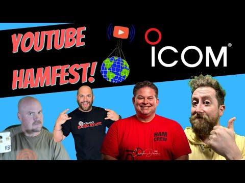 ICOM Ray Novak & Friends.  Youtube HamFest 2021