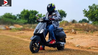 2020 Vespa SXL 150 BS6 ABS First Ride Review #ScooterFest