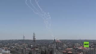 """كتائب القسام توجه ضربة صاروخية لتل أبيب بعشرات الصواريخ """"ردا على مجزرة مخيم الشاطئ"""""""