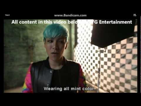 Big Bang Fantastic Baby [Making Film - Korean Ver]Eng Subs Part 1/2