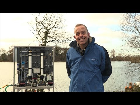 Using pump system intelligence to make potable water anywhere in the world