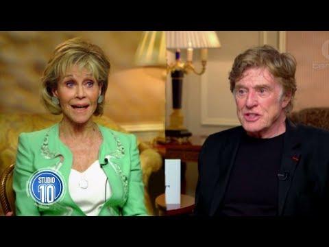 Jane Fonda & Robert Redford Reunite   Studio 10