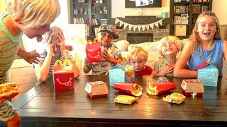 🍟 5 Kids  React To Eating McDonald's For The First Time 😂